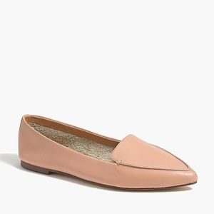 J CREW FACTORY | Edie leather loafers